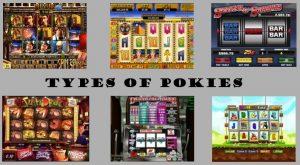 Types of pokies Australia