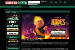 Casino Mate Review - Australia login, bonus codes
