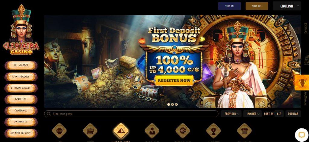 Cleopatra Slots - Casino games Australia