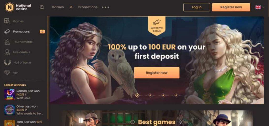 National Casino Australia login